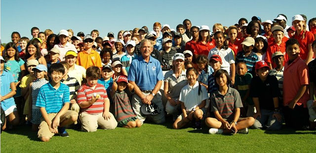 GeorgeBush-FirstTee
